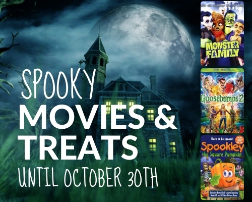 Spooky Movies and Tasty Treats 'til 10/30